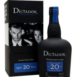 Dictador 20YRS Rum