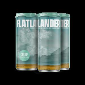 FLATLANDER CRISP CIDER 4PKC