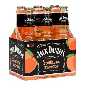 JACK DANIEL'S SOUTHERN PEACH 6PKB