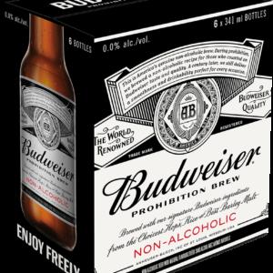 BUDWEISER PROHIBITION 6BTLS