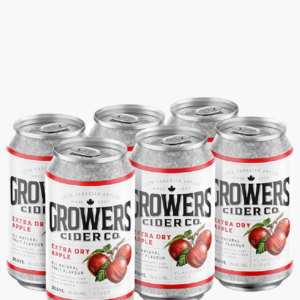 GROWERS EXTRA DRY CIDER 6PKC