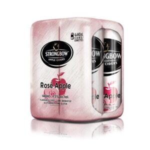 STRONGBOW ROSE CIDER 4PKC