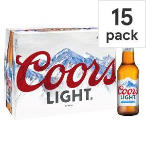 COORS LIGHT 15BOTTLES