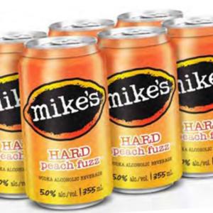 MIKES HARD PEACH FUZZ 6PKC