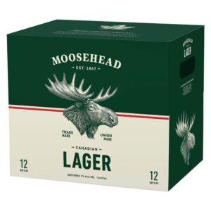 MOOSEHEAD LAGER 12BOTTLES