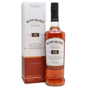 BOWMORE 15YRS 750ML