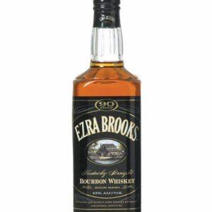 EZRA BROOKS 750ML