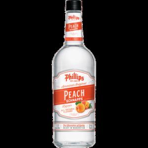 PHILLIPS PEACH SCHNAPPS 750ML